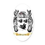 Hoggins Oval Car Magnet