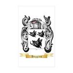 Hoggins Sticker (Rectangle 50 pk)