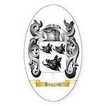 Hoggins Sticker (Oval 10 pk)