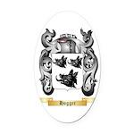 Hogger Oval Car Magnet