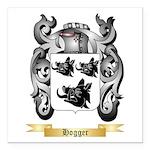 Hogger Square Car Magnet 3