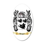Hogger 20x12 Oval Wall Decal