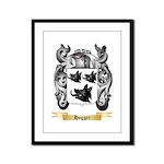 Hogger Framed Panel Print