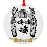 Hogge Round Ornament