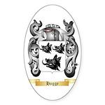 Hogge Sticker (Oval 50 pk)