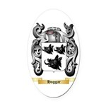 Hoggar Oval Car Magnet