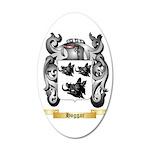 Hoggar 35x21 Oval Wall Decal