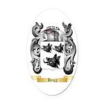 Hogg Oval Car Magnet