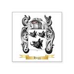 Hogg Square Sticker 3