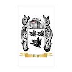 Hogg Sticker (Rectangle 50 pk)
