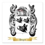 Hoger Square Car Magnet 3