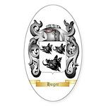 Hoger Sticker (Oval)