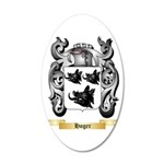 Hoger 20x12 Oval Wall Decal