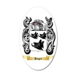 Hoger 35x21 Oval Wall Decal