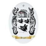 Hoger Ornament (Oval)
