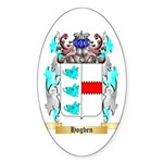 Hogben Sticker (Oval 50 pk)