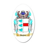 Hogben 20x12 Oval Wall Decal