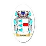 Hogben 35x21 Oval Wall Decal