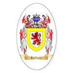 Hoffman Sticker (Oval 50 pk)