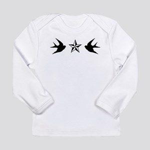 Swallows and Stars Long Sleeve T-Shirt
