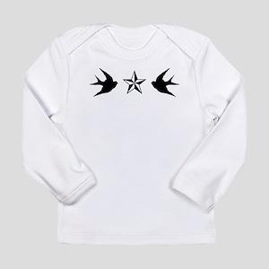 Swallows and Stars Long Sleeve T-Shirt