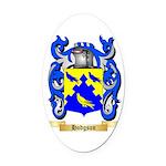 Hodgson Oval Car Magnet