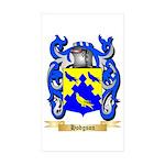 Hodgson Sticker (Rectangle 50 pk)