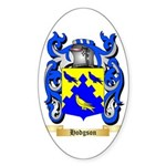 Hodgson Sticker (Oval)