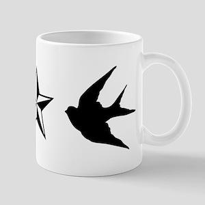 Swallows and Stars Mugs