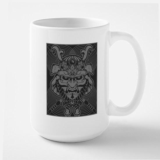 Samurai Rising Stainless Steel Travel Mugs