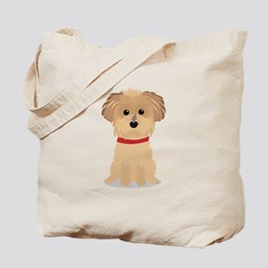 Terrier Puppy Tote Bag