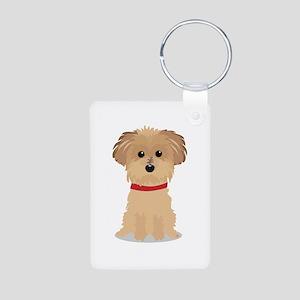 Terrier Puppy Keychains