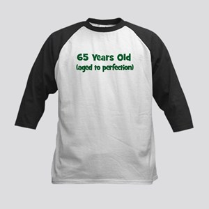 65 Years Old (perfection) Kids Baseball Jersey