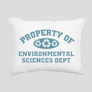 Property Of Environmental Sciences Rectangular Can