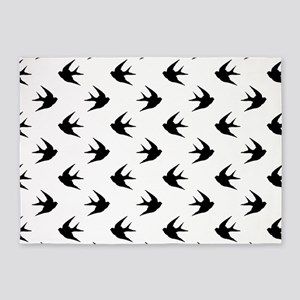 Swallow 5'x7'Area Rug