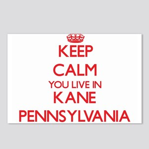Keep calm you live in Kan Postcards (Package of 8)