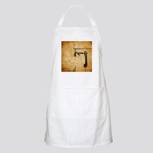 rustic country daisy Apron