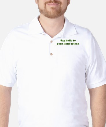 Say hello to your little fr Golf Shirt