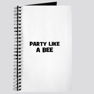 party like a bee Journal