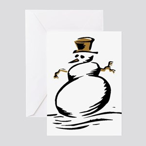 Snowman Greeting Cards (6)