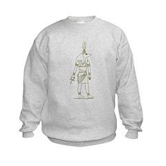 Anubis II Hieroglyph Sweatshirt
