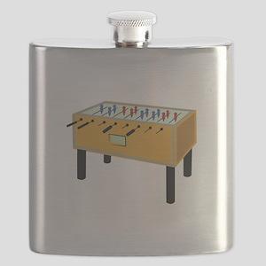 Foosball Flask