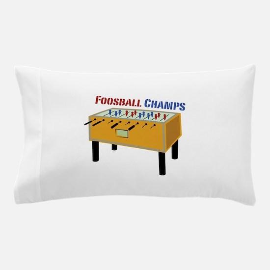 Foosball Champs Pillow Case