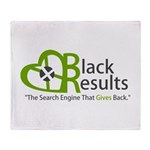 BR Logo Throw Blanket