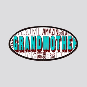 Grandmother Word Cloud Patches