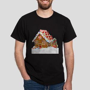 Gingerbread House Dark T-Shirt