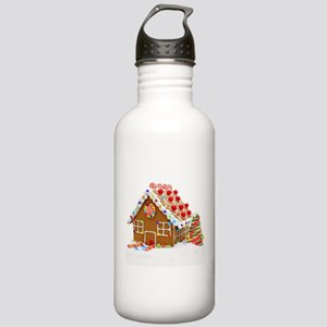 Gingerbread House Stainless Water Bottle 1.0L