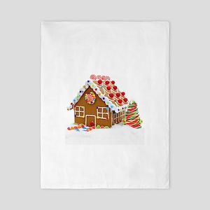 Gingerbread House Twin Duvet