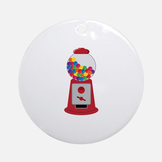Gumball Game Ornament (Round)