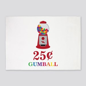 Play The Gumball 5'x7'Area Rug